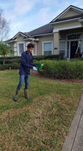Lawn care and fungus treatment