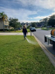 Lawn care treatment Jacksonville Fl